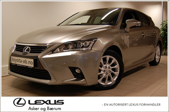 Lexus CT200h Edition 25 RENTEKAMPANJE  2015, 6750 km, kr 319000,-