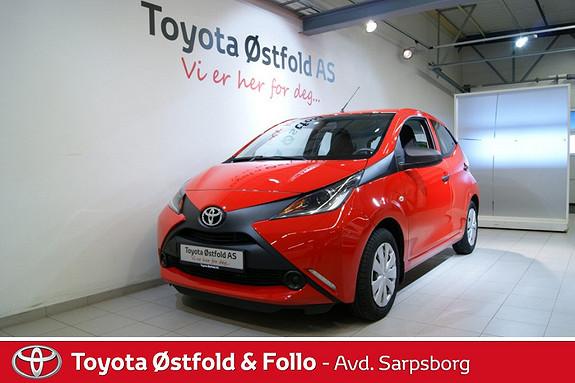 Toyota Aygo x 1,0 , DAB+ radio,  2015, 5200 km, kr 128000,-
