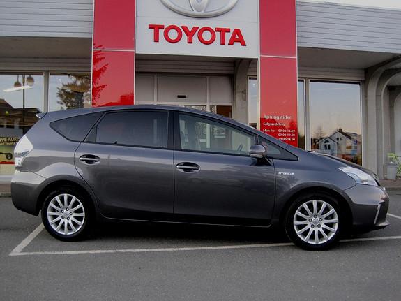Toyota Prius+ Seven 1,8 VVT-i Hybrid Executive Skyview m/navi ,17