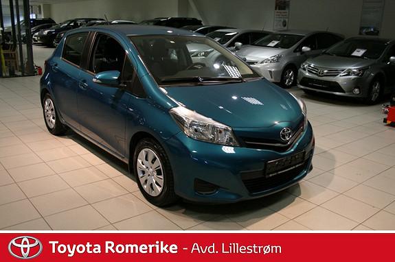 Toyota Yaris 1,33 Active  2012, 35031 km, kr 159000,-