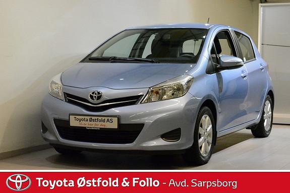 Toyota Yaris 1,0 Active , RYGGEKAMERA / BLUETOOTH,  2013, 31800 km, kr 155000,-