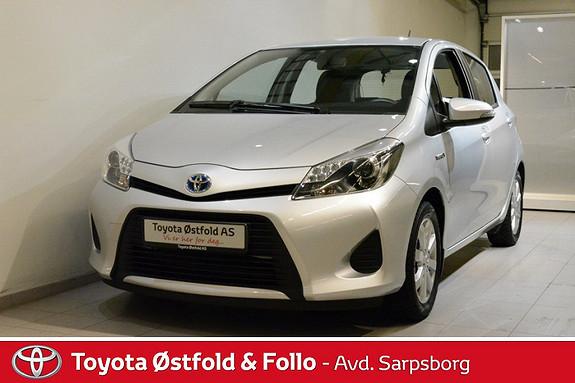 Toyota Yaris 1,5 Hybrid Active , INNTIL 10 ÅRS HYBRIDBATTERIGARANTI,  2013, 17500 km, kr 182000,-