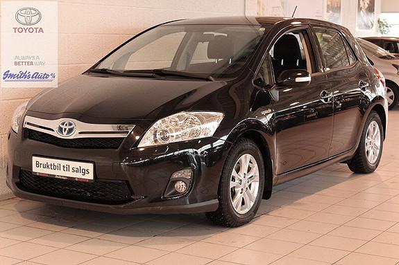 Toyota Auris 1.8 ADVANCE - HYBRID INNBYTTEGARANTI KR. 20.000,-  2012, 33000 km, kr 189000,-