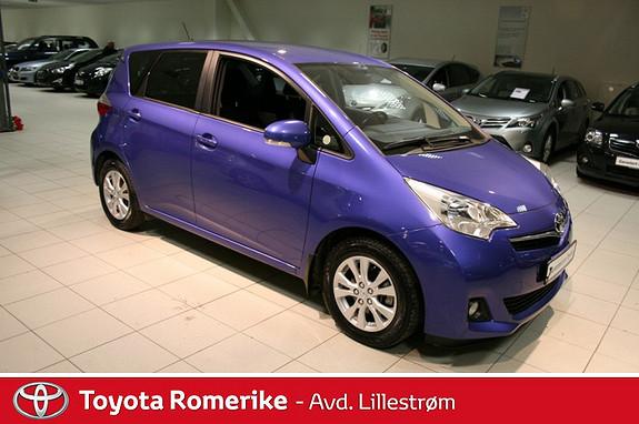 Toyota Verso-S 1,33 Dynamic S&S  2012, 33546 km, kr 165000,-