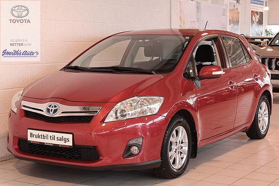 Toyota Auris 1.8 ADVANCE - HYBRID INNBYTTEGARANTI KR. 20.000,-  2012, 61000 km, kr 179000,-