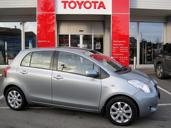 Toyota Yaris 1,4 D-4D Sol  2008, 103643 km, kr 89000,-