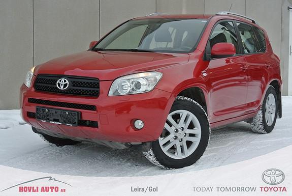 Toyota RAV4 2,2 D-4D 136hk DPF Sport H.feste - En Eier - Alle servicer fulgt - 1 års garanti  2007, 184580 km, kr 149900,-