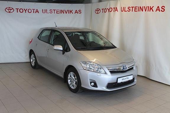 Toyota Auris 1,8 Hybrid Advance HSD  2012, 35000 km, kr 205000,-