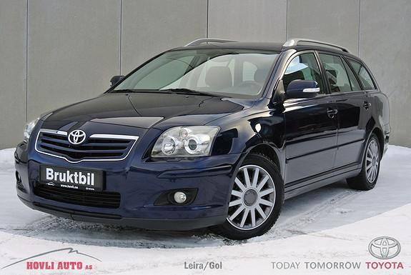Toyota Avensis 2,0 D-4D Sol m/DPF Dieselvarmer - Hengerfeste - Alle servicer - 1 års garanti  2007, 152800 km, kr 139900,-