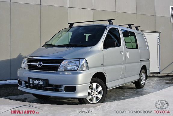 Toyota HiAce D-4D 5-d 117hk 4WD kort Hengerfeste - 1 eier -  Pent brukt - Nybilgaranti!  2012, 87850 km, kr 239900,-