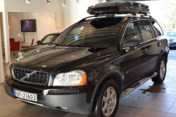 Volvo XC90 D5 AWD Summum 7-seter DVDbakseterWebastoNavigasjonNygirkasse, Servicehistorikk  2006, 164000 km, kr 249000,-