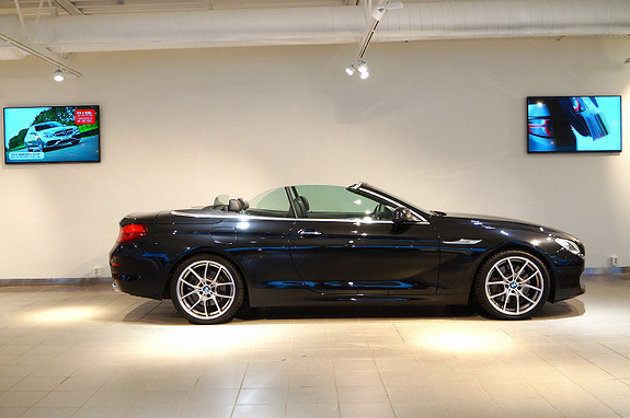 BMW 6-serie 650i Cab, edc, komf, dynamic drive  2012,