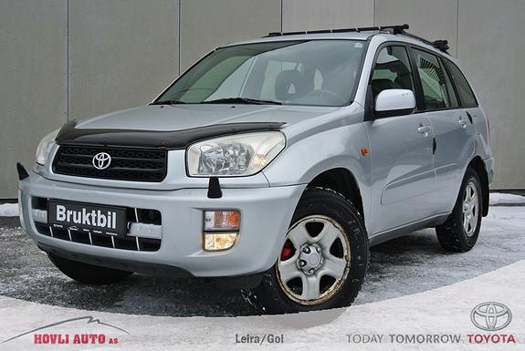 Toyota RAV4 2,0 150hk 4wd 5-dørs Hengerfeste - DAB+ Radio - Eu OK 2016 - M.varmer -  Garanti  2000, 223150 km, kr 69900,-