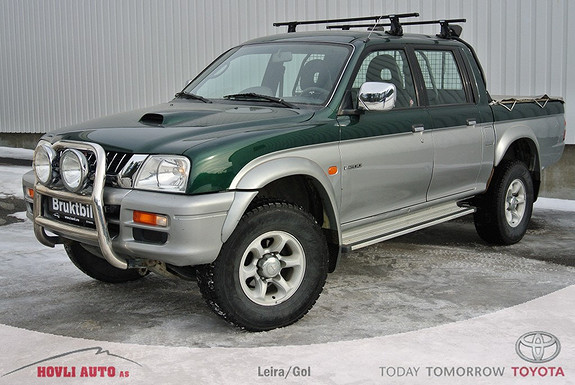 Mitsubishi L200 GLS 4wd Double Cab , godkjent lykyebøyle
