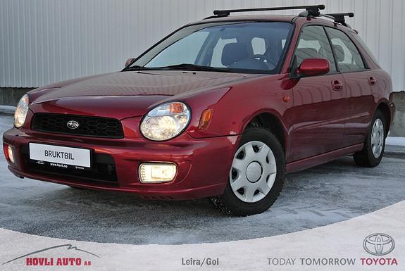 Subaru Impreza 1,6 TS El Business , høy og lav gear ,  2002, 208400 km, kr 49000,-
