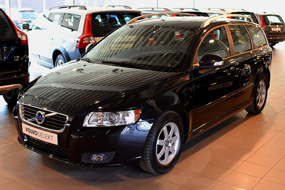 Volvo V50 DRIVe Limited Edition start/stop Nybilgaranti,38000km, Prog Webasto, Bluetooth, Skinn  2012, 38100 km, kr 229000,-