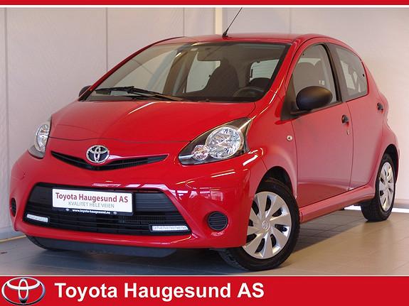 Toyota Aygo 1,0 5-d Norsk bil - GARANTI - drivstoffgjerrig og driftssikker!  2013, 17367 km, kr 109000,-