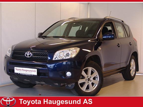 Toyota RAV4 2,2 D-4D 136hk DPF Sport Navigasjon, full servicehistorikk, hengerfeste, 1 eier ++  2007, 137139 km, kr 169000,-