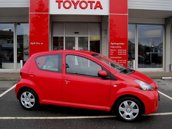 Toyota Aygo 1,0 + 5-d  2008, 106890 km, kr 65000,-