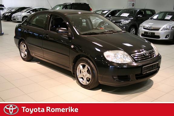 Toyota Corolla 1,4 D-4D Sol UKENS TILBUD  2007, 144777 km, kr 84000,-