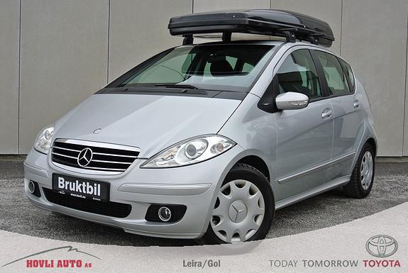 Mercedes-Benz A-Klasse A150 Avantgarde - A/C - Skiboks - Panoramatak - Eu OK 2016 - Garanti  2005, 126000 km, kr 79900,-