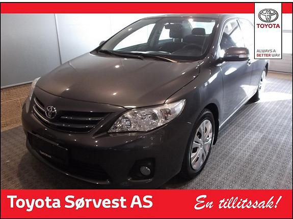 Toyota Corolla 1,4 D-4D Advance  2012, 19000 km, kr 189000,-