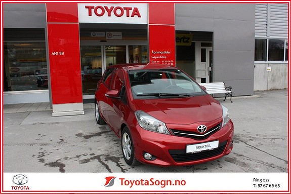 Toyota Yaris D-4D Active  2012, 37500 km, kr 166000,-