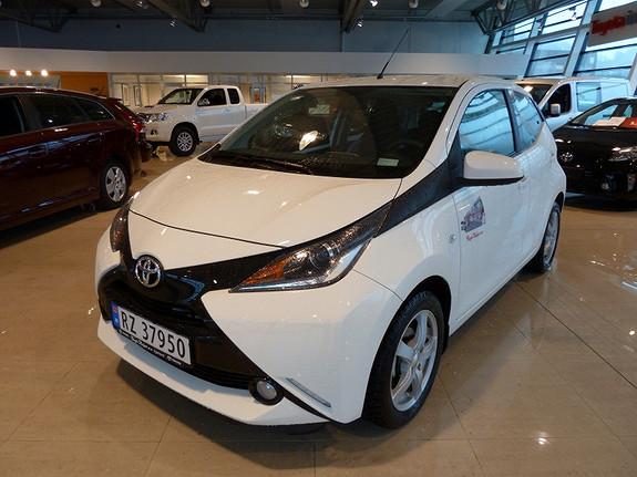 Toyota Aygo 1.0 VVTI X-Play  2014, 2000 km, kr 165000,-