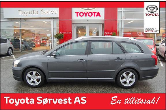 Toyota Avensis 1,8 Sol  2007, 127200 km, kr 149000,-