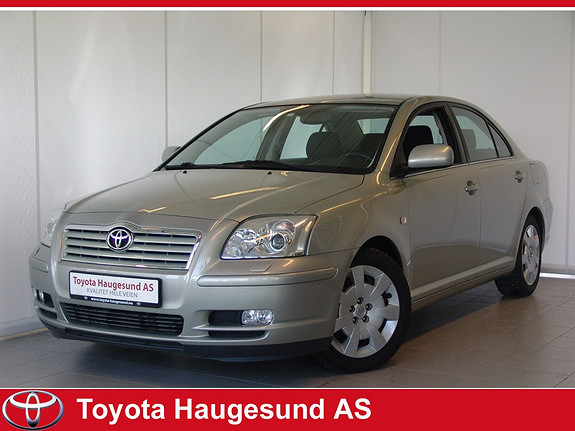 Toyota Avensis 1,8 Sol Business Autoklima, setevarme, norsk bil, 2 eiere, fin KM.  2004, 134974 km, kr 79000,-