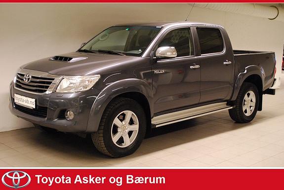 Toyota HiLux D-4D 171hk D-Cab Aut 4wd SR+  2012, 89800 km, kr 299000,-