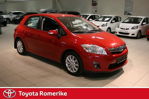 Toyota Auris 1,8 Hybrid Advance HSD  2012, 28137 km, kr 205000,-