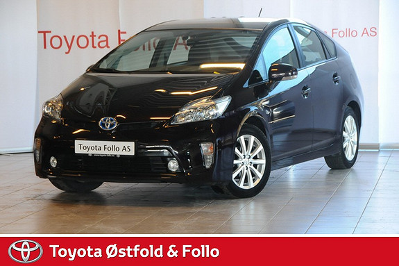 Toyota Prius 1,8 VVT-i Hybrid Advance Facelift med soltak og solcellepanel  2012, 45052 km, kr 219000,-