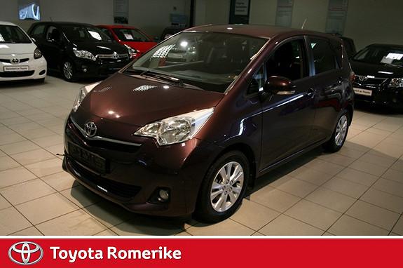 Toyota Verso-S 1,33 Elegant S&S Multidrive S  2012, 39621 km, kr 189000,-