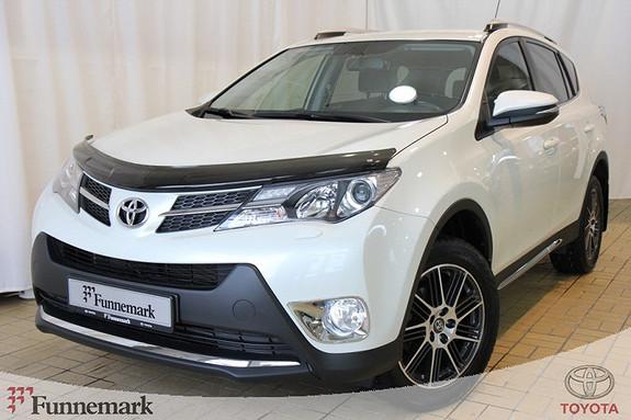 Toyota RAV4 2,2 D-4D 4WD Active  2013, 39326 km, kr 389000,-