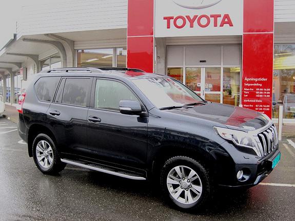 Toyota Land Cruiser 3,0 D-4D GX Aut Hengerfeste, Avgiftsgunstig reg. før  2014, 19500 km, kr 598000,-