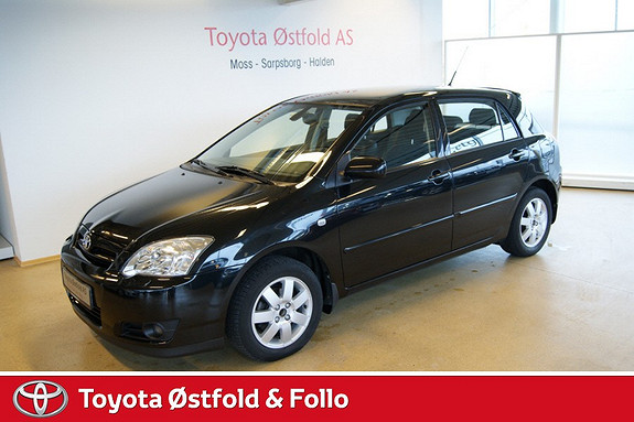 Toyota Corolla 1,6 Sol aut  2005, 84171 km, kr 97000,-