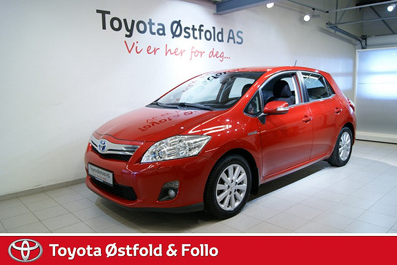 Toyota Auris 1,8 Hybrid Executive HSD , INNTIL 10 ÅRS HYBRIDBATTERIGARANTI, 136HK,  2012, 42850 km, kr 205000,-