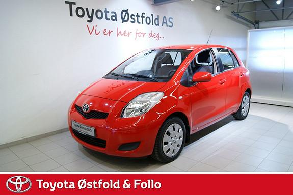 Toyota Yaris 1,33 Sol S&S  2009, 43000 km, kr 118000,-