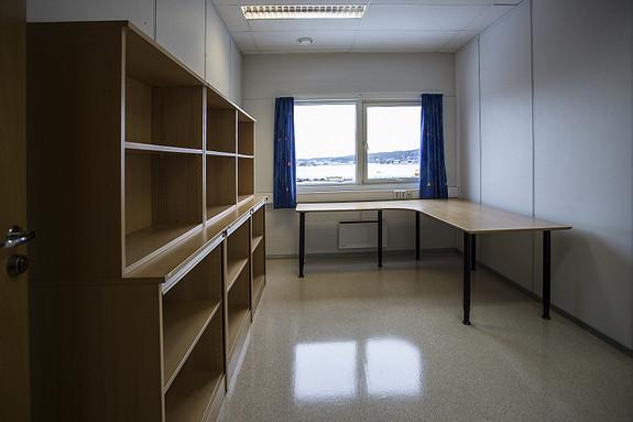 21,5 m2 BTA  kontor med sjøutsikt på Kaldnes.      Husleie 1.850.- pr mnd.