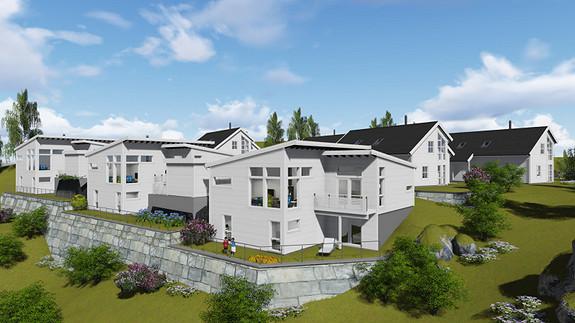 Søvikmarka - Ny flott enebolig under oppføring. Innflytting høst 2016