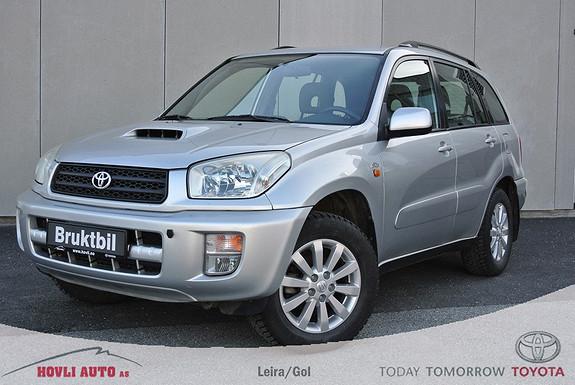 Toyota RAV4 D-4D 4wd Hengerfeste - 1 eier - Understellsbehandlet - Motorvarmer - Garanti  2003, 234100 km, kr 79900,-
