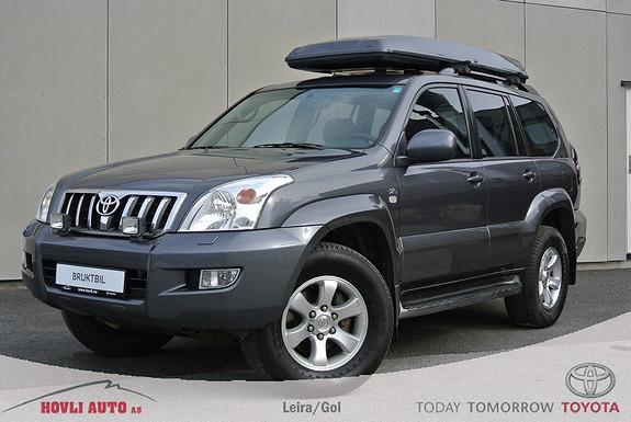 Toyota Land Cruiser 3,0 D-4D VX Aut 8 seter Tectlybehandlet - 1 års garanti  2004, 206000 km, kr 299900,-