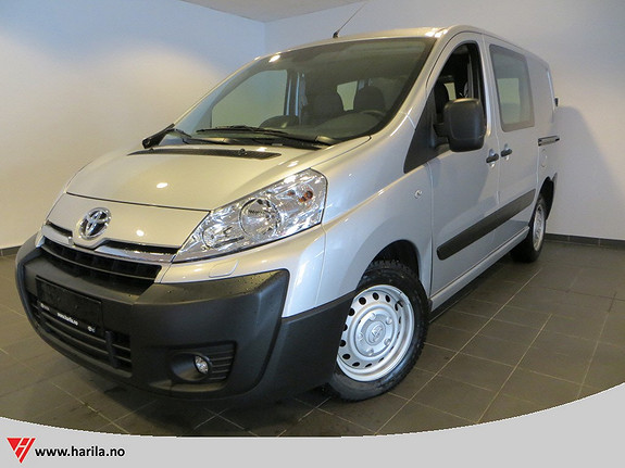 Toyota Proace 2,0 128hk L1H1  2013, 20006 km, kr 219600,-