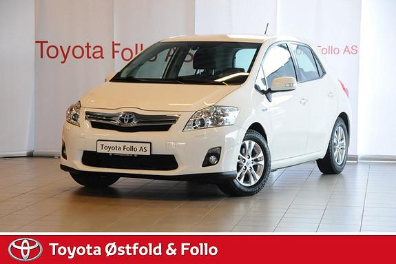 Toyota Auris 1,8 Hybrid Executive HSD Meget velholdt  2012, 49531 km, kr 198000,-
