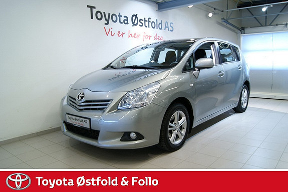Toyota Verso 2,0 D-4D Panorama 7 seter , TILHENGERFESTE,  2011, 94300 km, kr 218000,-