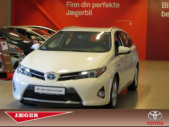 Toyota Auris Touring Sports 1,8 Hybrid Active  2013, 10 500 km, kr 269 000,-