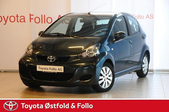 Toyota Aygo 1,0 + 5-d  2012, 25000 km, kr 99000,-