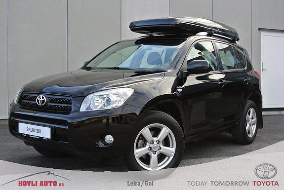 Toyota RAV4 2,2 D-4D 136hk DPF Sport Skiboks - Meget pen - 1 års garanti - H.feste  2007, 89500 km, kr 199900,-