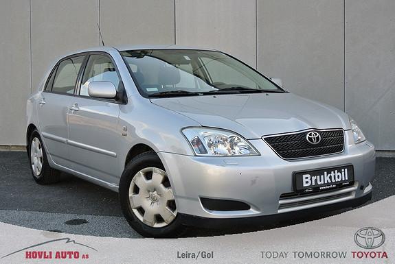Toyota Corolla 1,6 Sol  EU OK til 2016 - Bra servicehistorikk - 2 eiere -  Garanti  2004, 117650 km, kr 79900,-